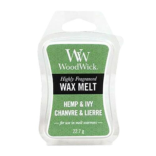 Vonný vosk WoodWick Konopí a břečťan, 22 g