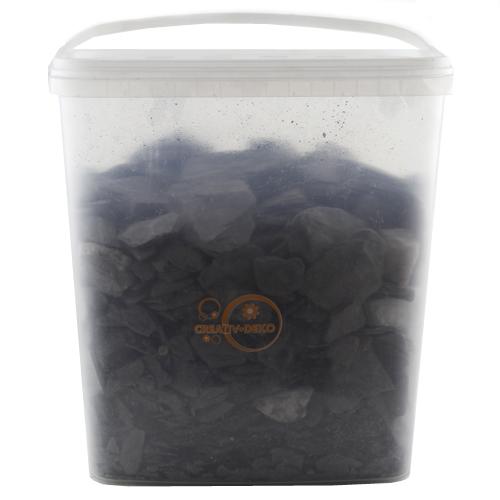 Drť z břidlice Europalms černá, přibl. 13 kg