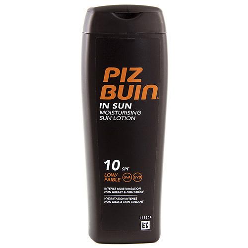 Mléko na opalování Piz Buin In Sun, SPF 10, 200 ml