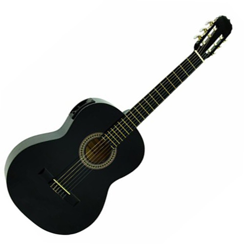 Klasická kytara Dimavery typu 4/4, černá