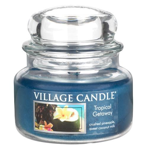 Svíčka ve skleněné dóze Village Candle Víkend v tropech, 312 g