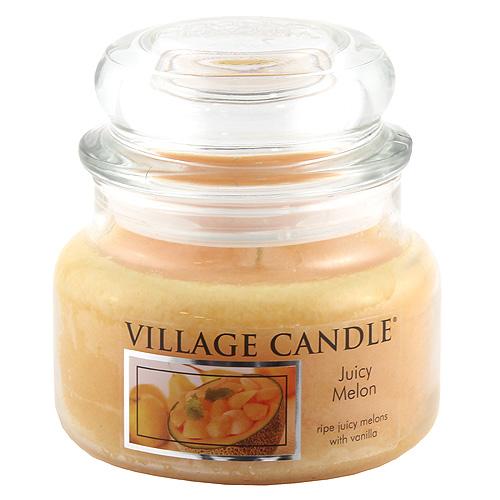 Svíčka ve skleněné dóze Village Candle Šťavnatý meloun, 312 g