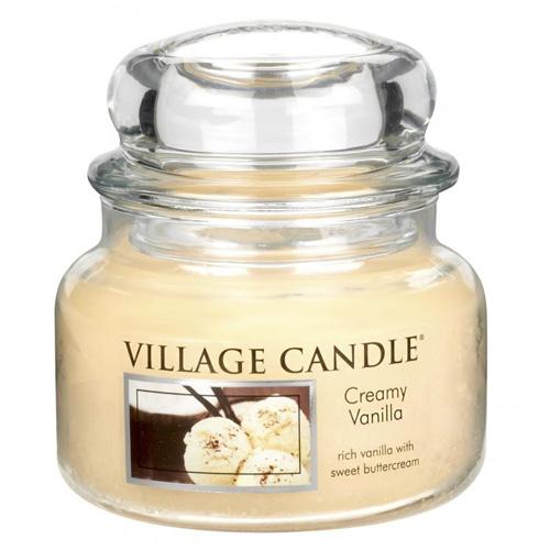 Svíčka ve skleněné dóze Village Candle Vanilková zmrzlina, 312 g