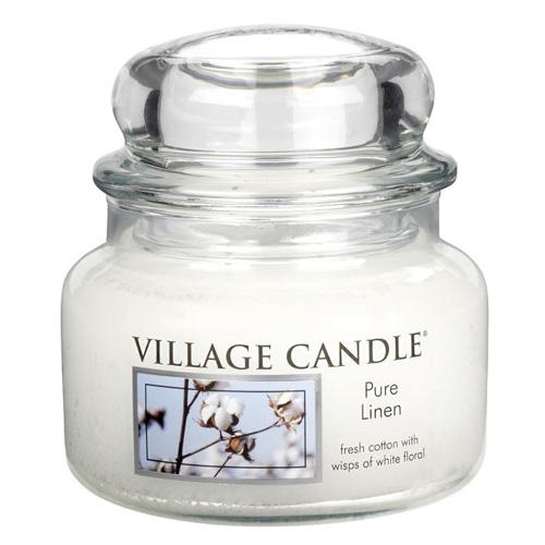 Svíčka ve skleněné dóze Village Candle Čisté prádlo, 312 g