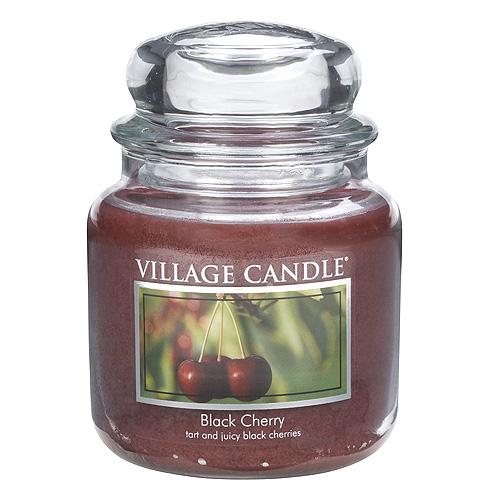 Svíčka ve skleněné dóze Village Candle Černá třešeň, 454 g