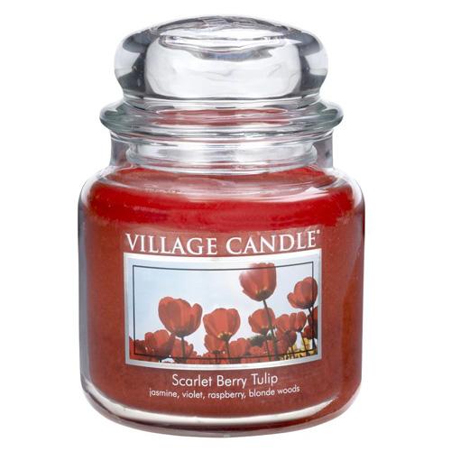 Svíčka ve skleněné dóze Village Candle Tulipán, 454 g
