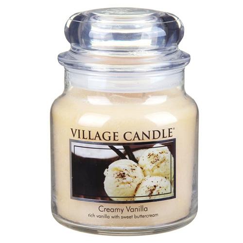 Svíčka ve skleněné dóze Village Candle Vanilková zmrzlina, 454 g