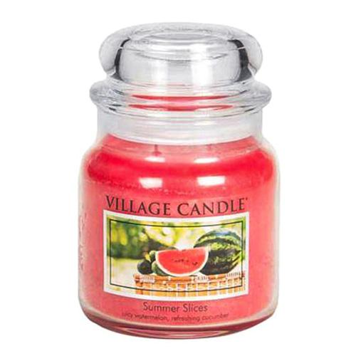 Svíčka ve skleněné dóze Village Candle Letní pohoda, 454 g