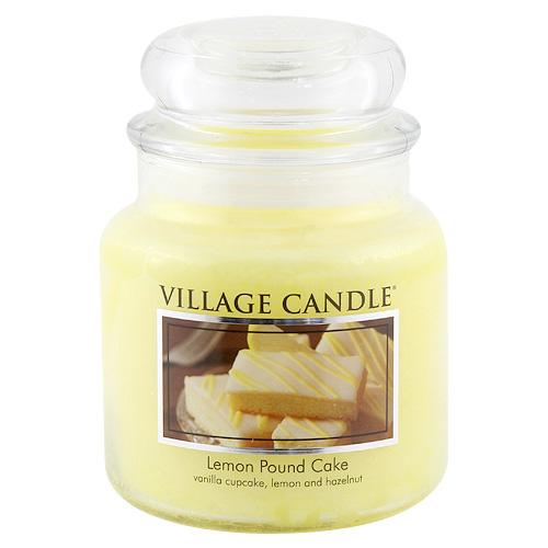 Svíčka ve skleněné dóze Village Candle Citrónový koláč, 454 g