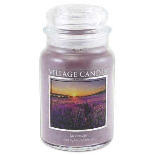 Svíčka ve skleněné dóze Village Candle Levandule, 737 g