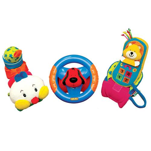 Veselé hračky K´s Kids Telefon, volant, stonožka