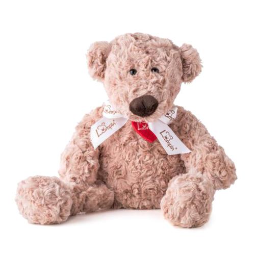 Medvěd Lumpin s mašlí, velký Jmenuji se Lumpin. Jsem snílek každým medvědím chloupkem, šť
