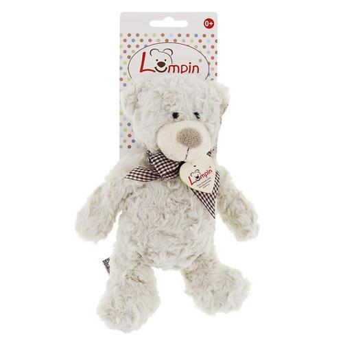 LUMPIN Medvěd Spencer s mašlí, malý Jmenuji se Spencer. Když je ti zima přitul se ke mně a já tě