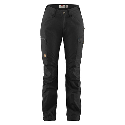 Fjällräven Kaipak Trousers Curved W Black | 550 | 38