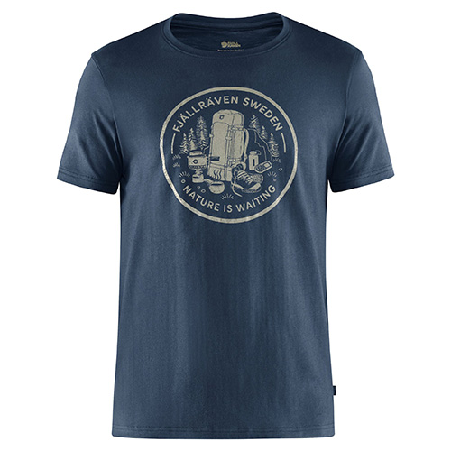 Fjällräven Fikapaus T-shirt M Navy | 560 | XXL