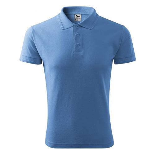 Polo triko Adler Polo Pique | Světle modrá | S