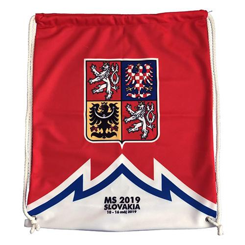Vak Jersey53 Česko - styl dres | Červená | Objem 14 l