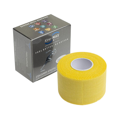 Kinemax Tejpovací páska Kine-MAX Neelastická | Žlutá | 3,8 cm x 10 m