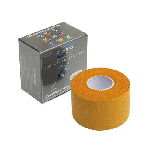 Kinemax Tejpovací páska Kine-MAX Neelastická | Oranžová | 3,8 cm x 10 m