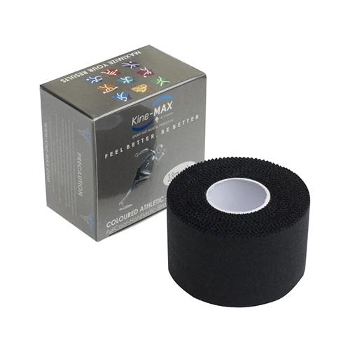 Kinemax Tejpovací páska Kine-MAX Neelastická | Černá | 3,8 cm x 10 m