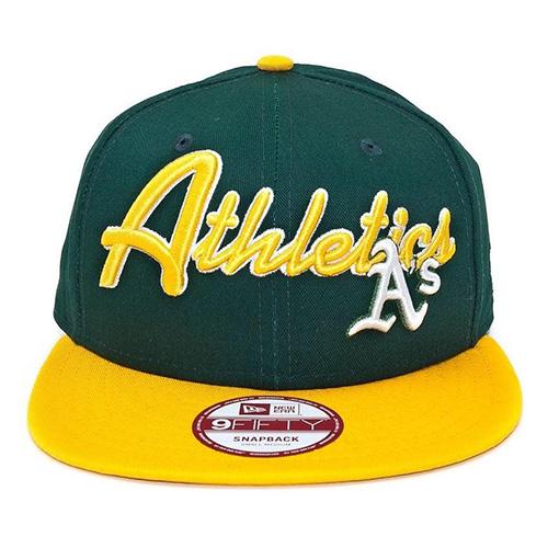 Kšiltovka New Era Oakland Athletics 9FIFTY | Zelená | S/M