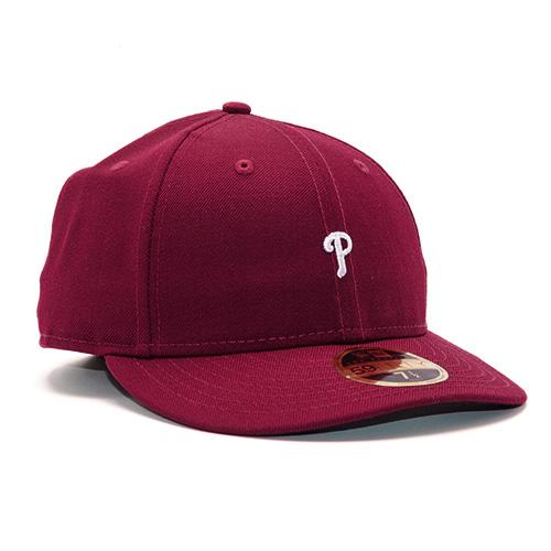 Kšiltovka New Era Philadelphia Phillies 59FIFTY | Červená | 7 1/4 (57,7 cm)