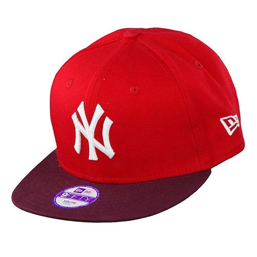 Kšiltovka New Era New York Yankees 9FIFTY | Červená | M/L