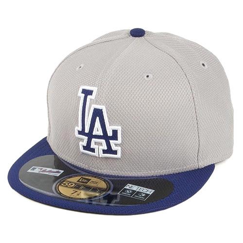 Kšiltovka New Era Los Angeles Dodgers 59FIFTY | Šedá | 7