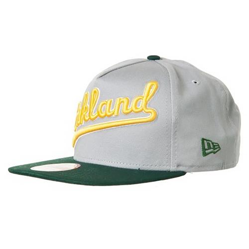 Kšiltovka New Era Oakland Athletics 9FIFTY | Šedá | M/L