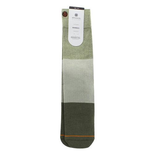Ponožky XPOOOS Essential Bamboo | Zelená | 39-42 EUR