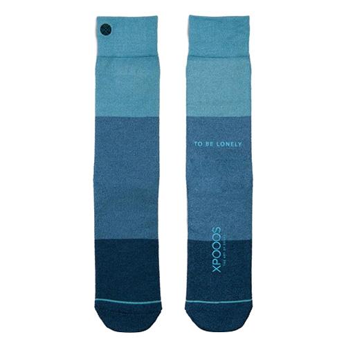 Ponožky XPOOOS Essential Bamboo | Modrá | 39-42 EUR