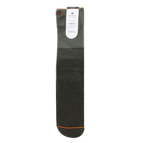 Ponožky XPOOOS Essential Bamboo | Khaki | 39-42 EUR