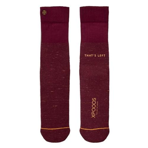 Ponožky XPOOOS Essential Bamboo | Červená | 39-42 EUR