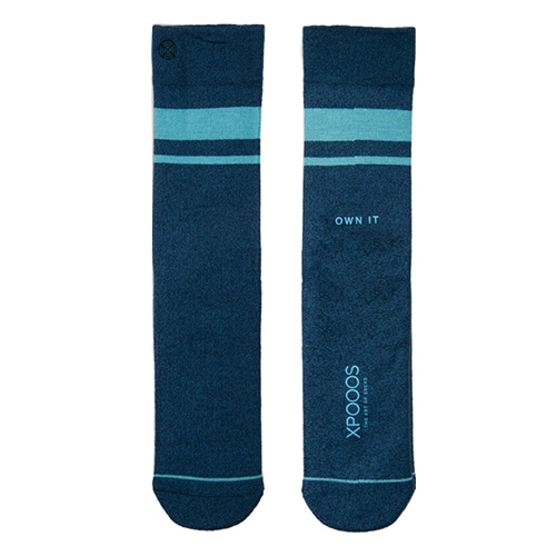 Ponožky XPOOOS Essential Bamboo | Tmavě modrá | 39-42 EUR