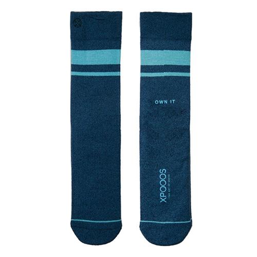 Ponožky XPOOOS Essential Bamboo | Tmavě modrá | 43-45 EUR