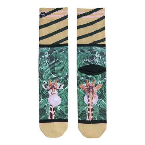 Dámské ponožky XPOOOS Zlatá | UNIVERZÁLNÍ