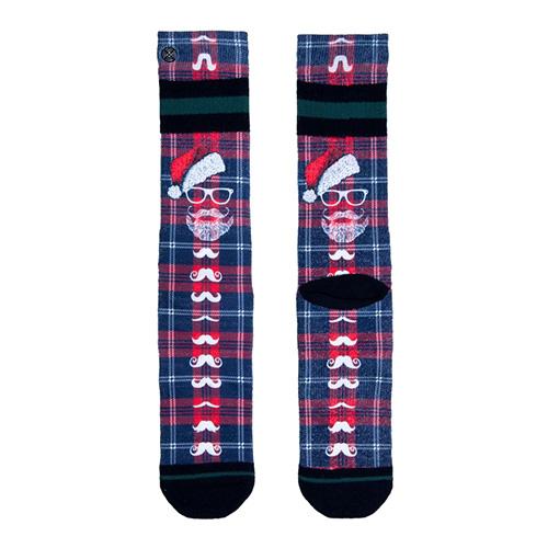 Ponožky XPOOOS X-MAS | Modrá | 43-46 EUR