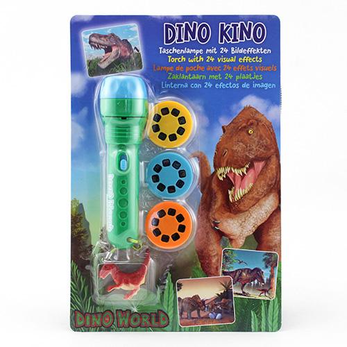Projekční svítilna Dino World ASST Zelená s přívěskem T-Rexe, 24 obrázků