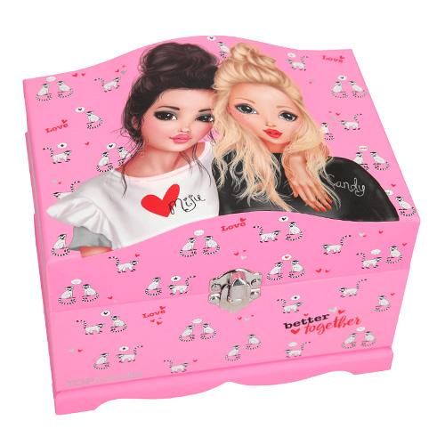 Šperkovnice Top Model Miju a Candy, růžová
