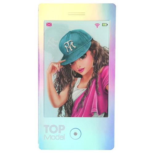 Zápisník Top Model ASST Talita, 3D motiv, růžová