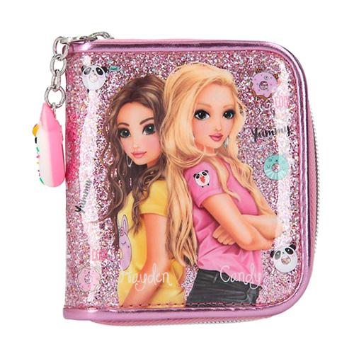 Peněženka Top Model Hayden a Candy, růžová s flitry