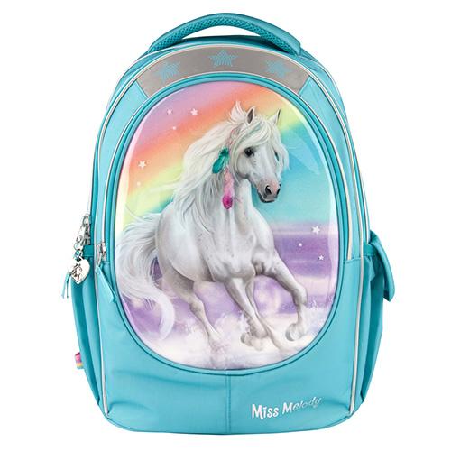 Školní batoh Miss Melody Třpytivá duha, Miss Melody