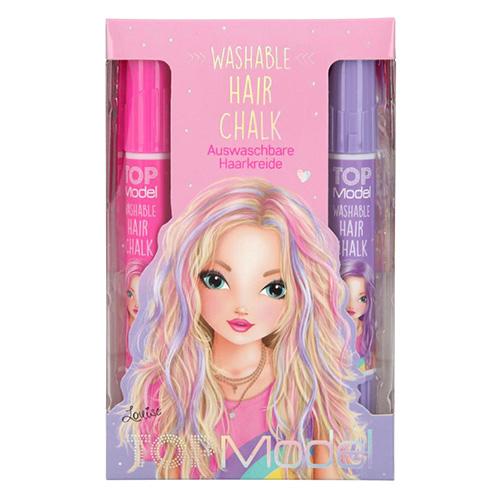 Top Model Washable Hair Chalk Louise, růžový box