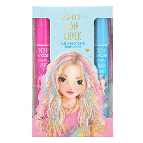 Top Model Washable Hair Chalk Louise, modrý box