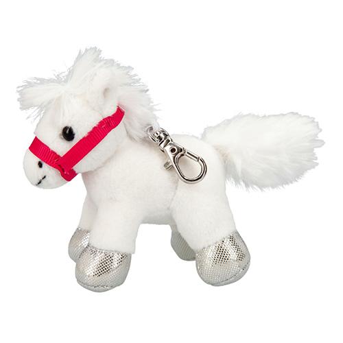 Plyšový přívesek Miss Melody Bílý koník