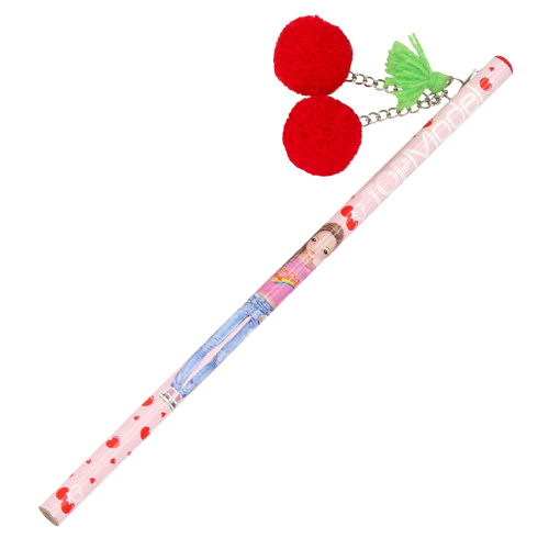 Tužka s plyšovou třešní Top Model ASST Červená třešeň