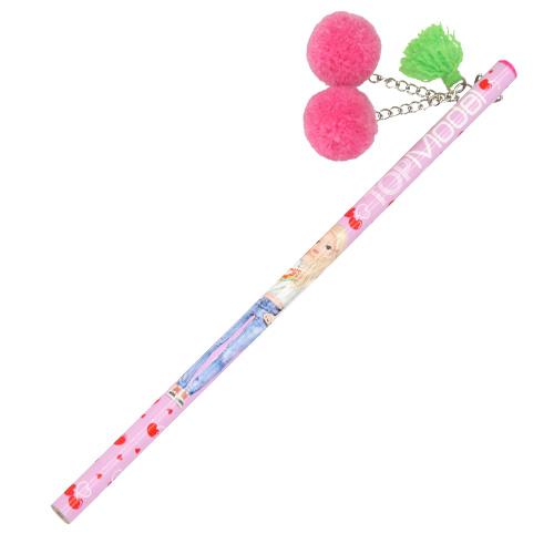 Tužka s plyšovou třešní Top Model ASST Světle růžová třešeň