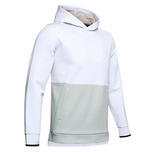 Under Armour Athlete Recovery Fleece Graphic Hoodie - L