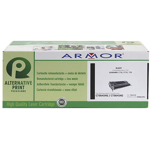 Armor toner pro Lexmark C736,12.000str (C736H1KG)B