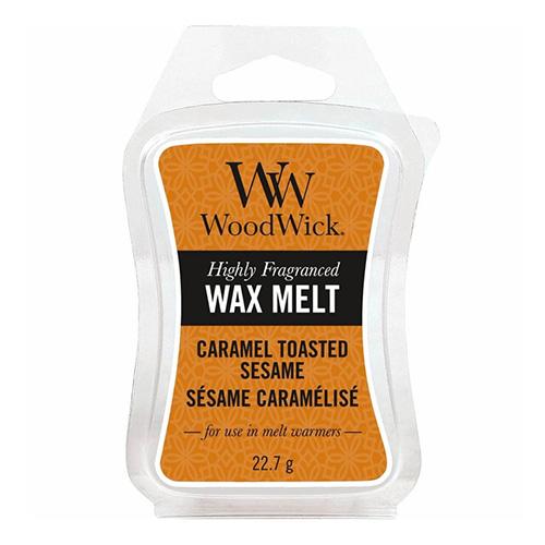 Vonný vosk WoodWick Sezamové sušenky s karamelem, 22.7 g